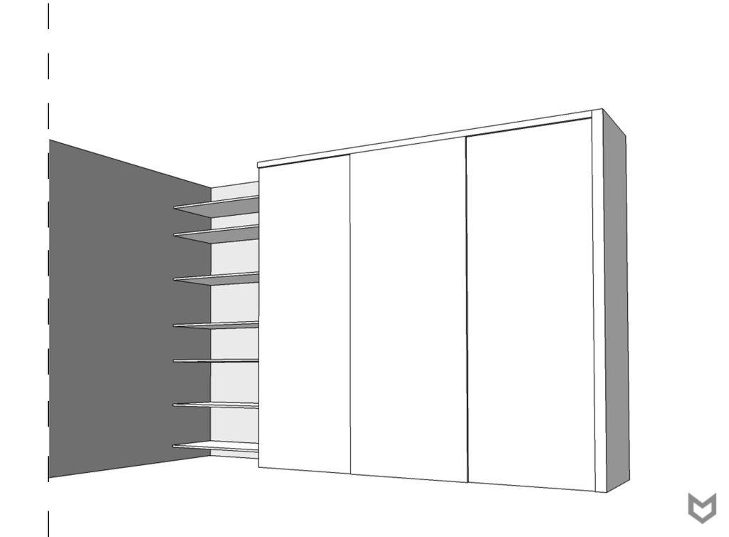Wygląd zewnętrzny szafy