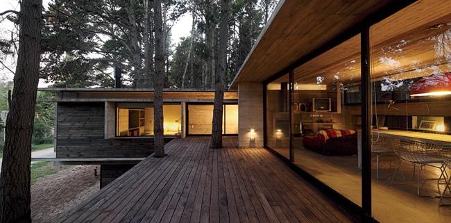 Projekt domu jednorodzinnego Casa BB odpracowni BAK Arquitectos