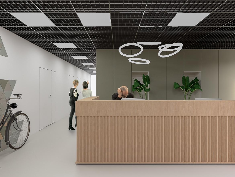 Projekt kompleksowy wraz z pozwoleniem na budowę dla przebudowy budynku biurowego dla dostosowania do aktualnych potrzeb biura