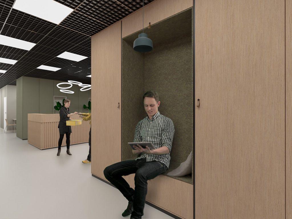 Projekt kompleksowy wraz zpozwoleniem nabudowę dla przebudowy budynku biurowego dla dostosowania doaktualnych potrzeb biura