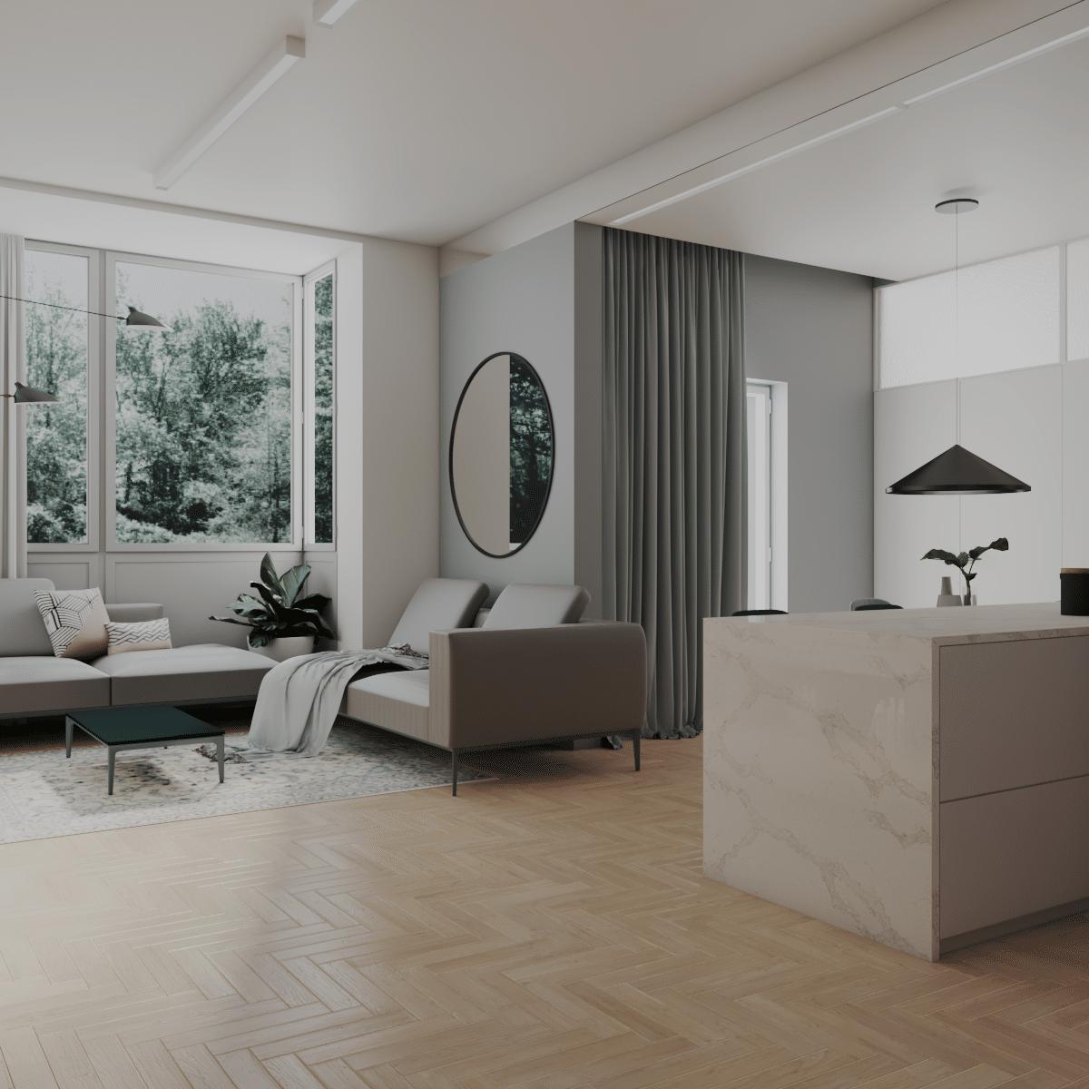 Mieszkanie wPoznaniu wykonane przezbiuro projektowe wPoznaniu