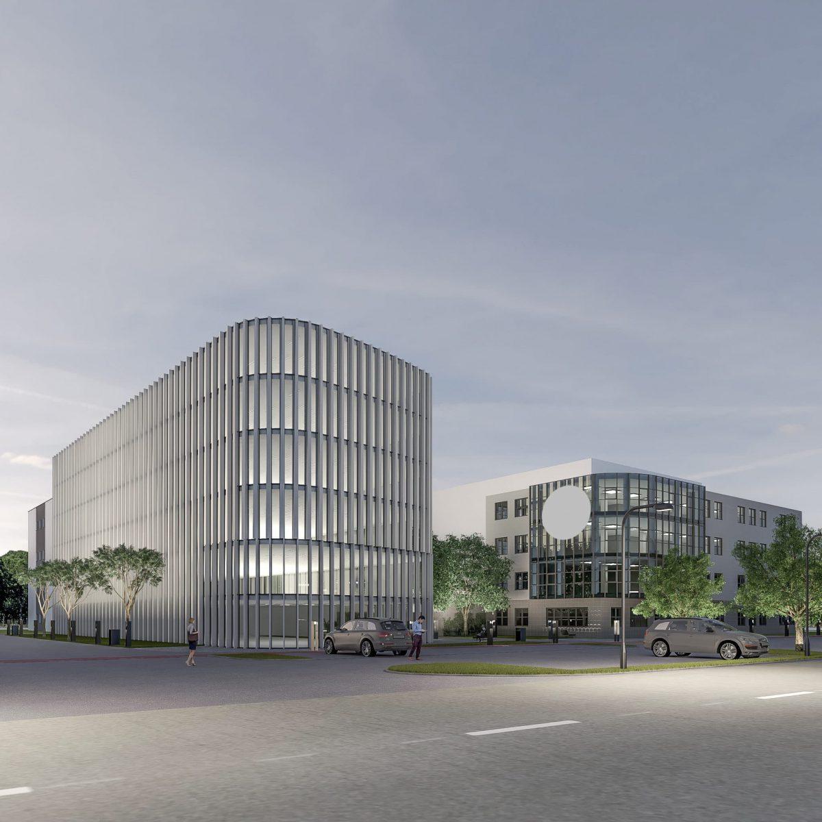 Rozbudowa budynków biurowych