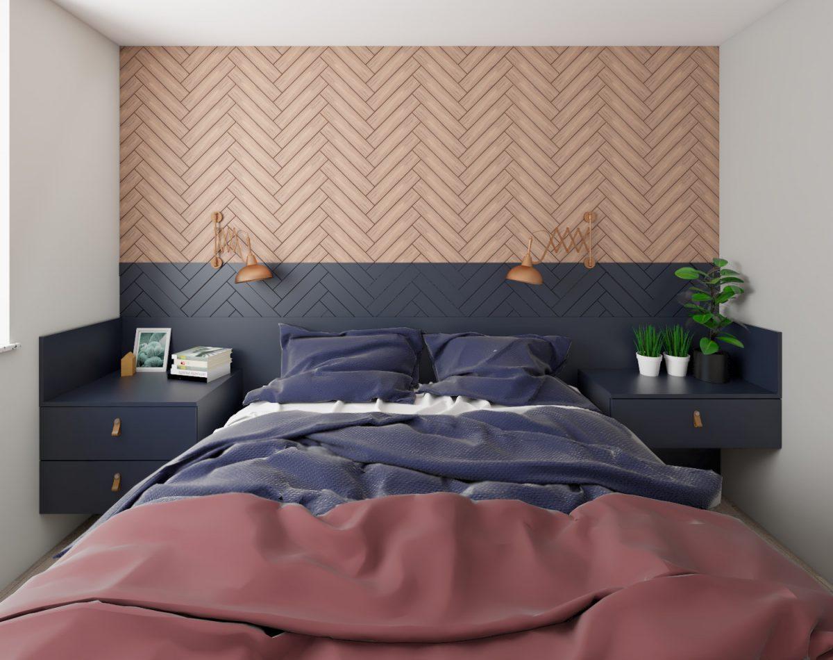 Sypialnia wkamienicy wpoznaniu