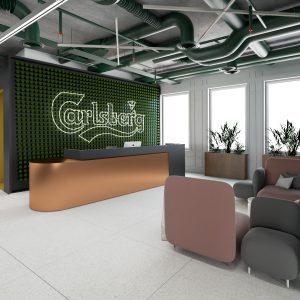 kompleksowe projekty wnętrz biurowych poznań
