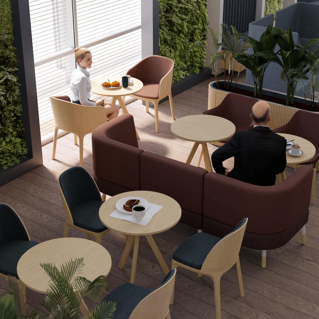Projekt wnętrza wypoczynkowego dla klienta VIP