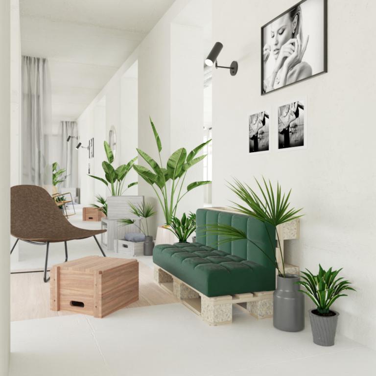 W twoim mieszkaniu niemoże zabraknąć roślin. Dodają wyjątkowego charakteru każdemu pomieszczeniu.